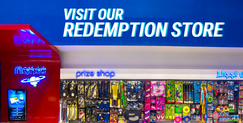 REDEEM PRIZES AT OUR REDEMPTION STORES